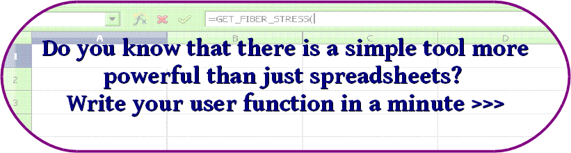 Read about spreadsheet user functions >>>